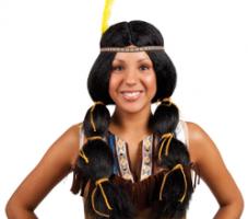 Indianer Perücken