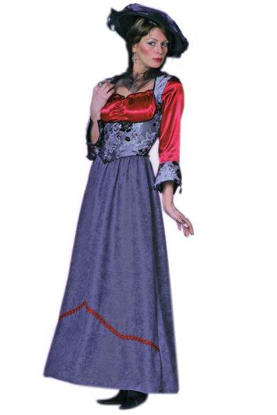 New Gothic Kleid Kostüm Gothik Vampirkleid Damenkleid