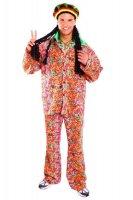 Schlager Hippie Anzug Schlaghose Mottoparty Kostüm