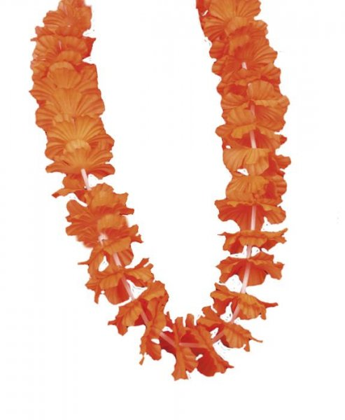 halloween blumenkette orange Luxus Beachparty