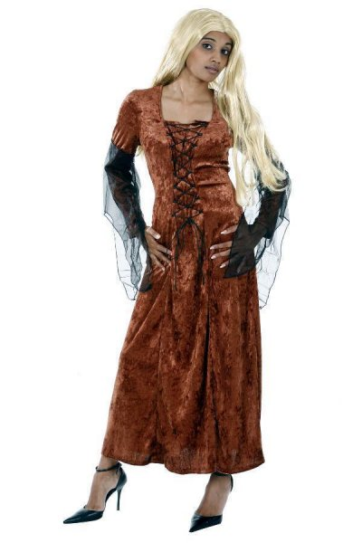 Fledermauskleid braun Halloween Kostüme