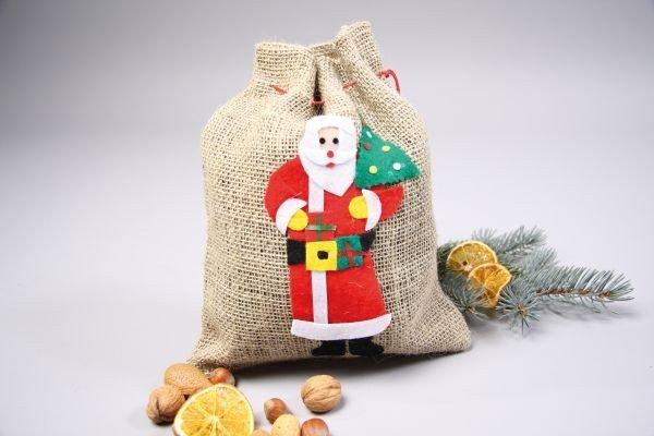 Nikolaussack Beutel Weihnachten Geschenk Nikolaus Sack