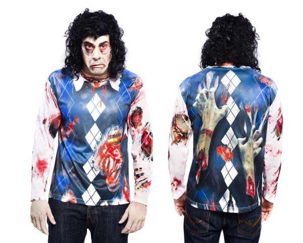 Zombie T-Shirt Halloweenkostüm
