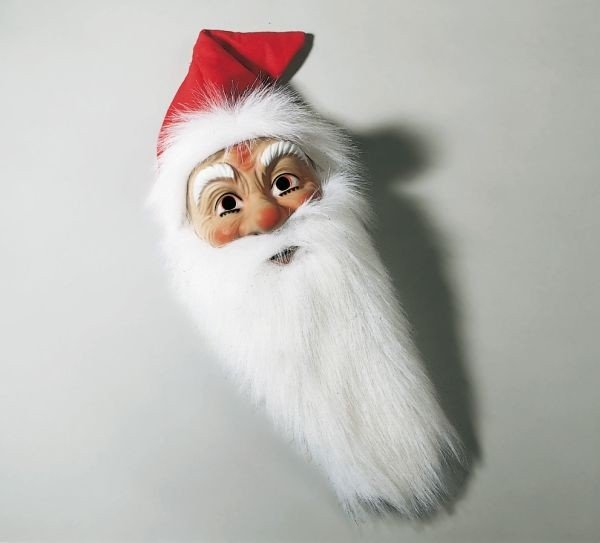 Nikolaus Weihnachtsmann Maske Fasching Weihnachten