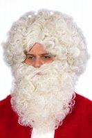 Bart Nikolaus Weihnachtsmann flachsblond Weihnachten
