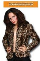 Gepard brauner Blazer Weste Damen Damenblazer