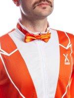 Sportanzug 80er Jahre Style Partyanzug orange