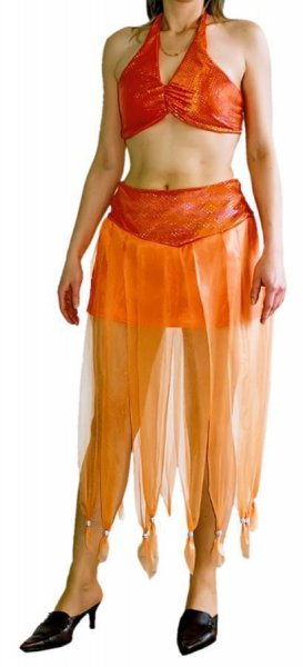 Orient Verkleidung orientalisches Kostüm Harem Bauchtanz Outfit