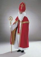 Umhang Bischof aus Samt Stola St. Nikolaus Weihnachten