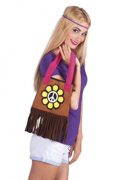 Hippie Damen Handtasche Flower Power