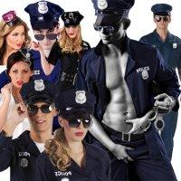 Polizei Verkleidung Outfits Kostüme Hemden Hüte...