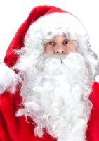 Luxus Nikolauskostüm Weihnachtsmann komplett Set