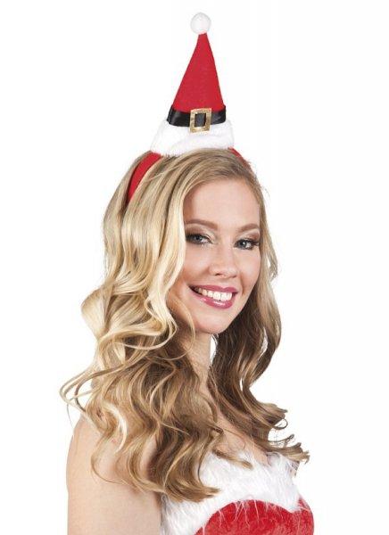 Nikolausmütze Haarreif Kopfschmuck Weihnachten