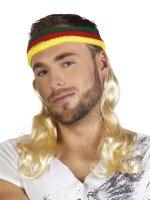 80er Jahre Prollo Stirnband mit Haaren