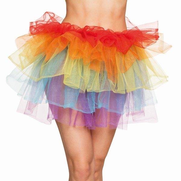 Petticoat Regenbogen Tütü Tutu