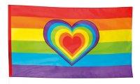 Regenbogenfahne Love