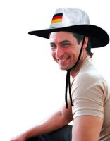 Cowboyhut Deutschland Hut Fan Fanartikel Fanhut deutsch