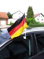 Deutschland Auto Fahne Autofahne Deutschlandfahne Party