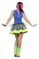 80er Jahre Party Girl Kostüm