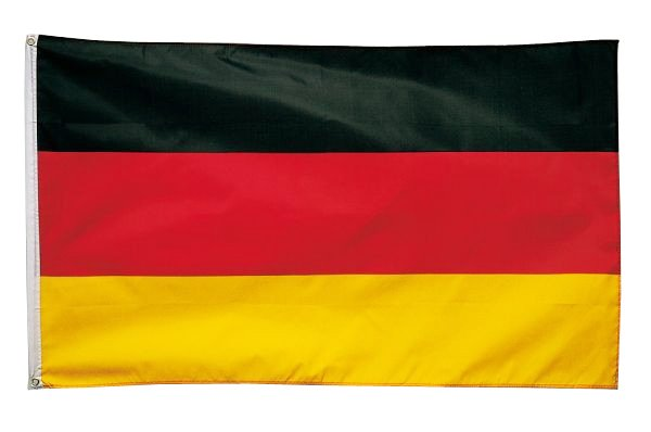 Fahne 90 x 150 cm Deutschland Fanartilkel Fahnen Fahne