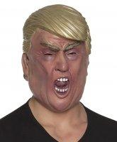 Gesichtsmaske Präsident Super Boss Latex