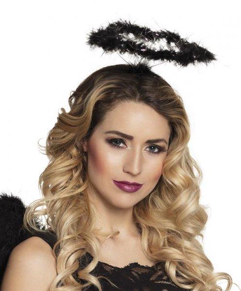 Heiligenschein Engel schwarz