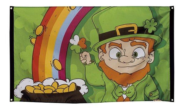 St. Patricks Day Fahne