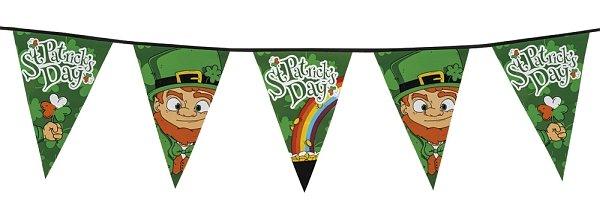 St. Patricks Day Wimpelkette