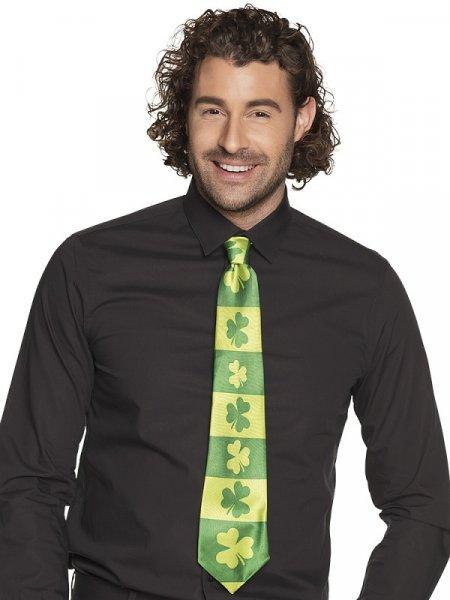 St. Patricks Day Shamrock Krawatte