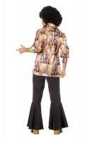 70er Jahre Disco Outfit Herren Hemd