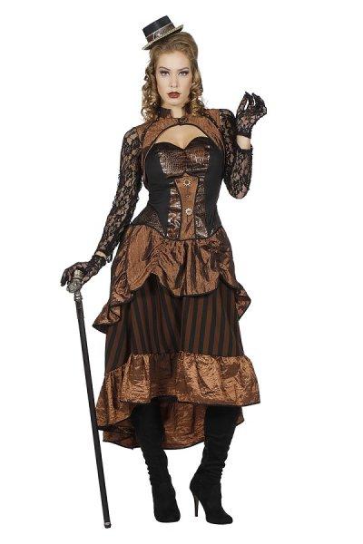Steampunk Lady Damenkleid