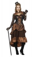 Steampunk Lady Damenkleid