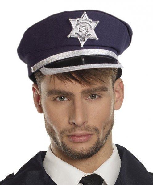 Polizei Officer Mütze (verstellbar)