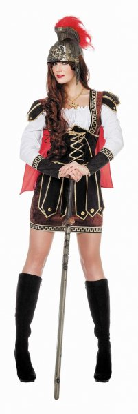 Römerin Spartanerin Antike Kostüm