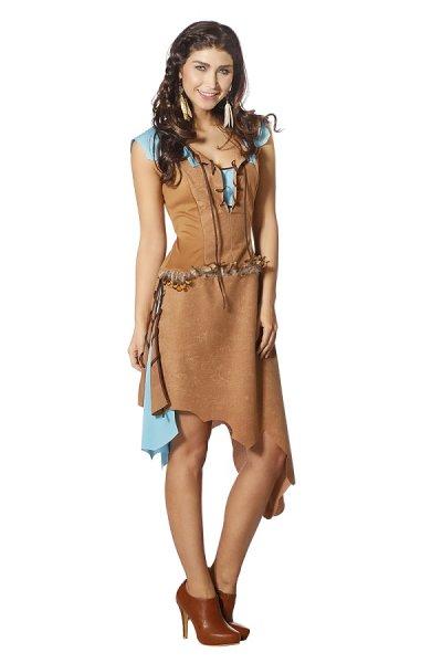 Indianerin Araphosa Damenkostüm