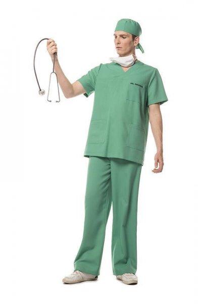 OP Narkose Arzt Herrenkostüm