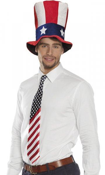 USA Krawatte Stars and Stripes