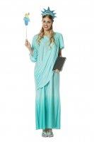 Freiheitsstatue Kostüm Miss Liberty 46