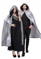 Vampir Umhang Cape mit Kapuze