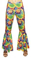Hippie Damenhose bunt Stretch M