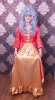 Rokoko Kleid rot gold Barock Kostüm PROFI QUALITÄT