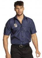 Polizei Hemd Polizeikostüm Oberteil