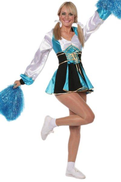 Cheerleader Kleid Damenkostüm
