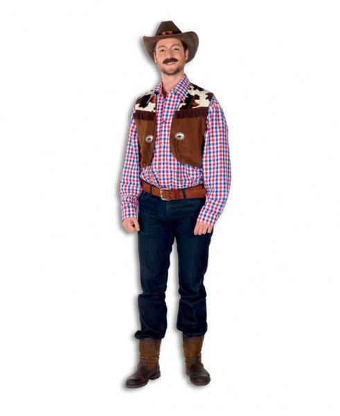 Cowboy Hemd mit Weste Cowboykostüm