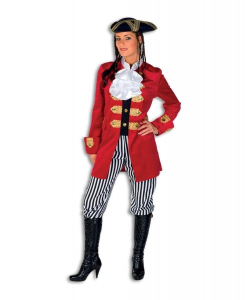 Piratin Seeräuberin Piraten Damenkostüm