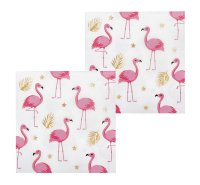 Flamingo Servietten 12er Set