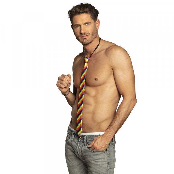 Krawatte bunt Regenbogen Farben