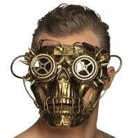 Skullpunk Steampunk Maske