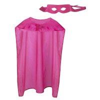 Hero Set pink Augenmaske & Umhang