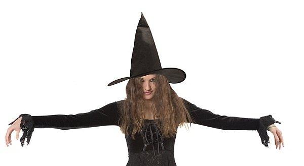 Hexenhut schwarz Halloween